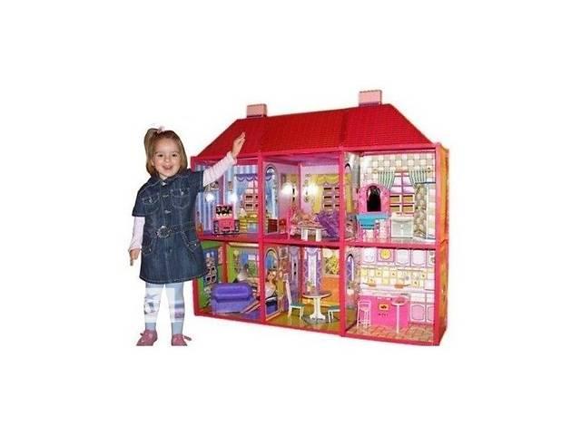 Большой кукольный дом + мебель My Lovely Villa- объявление о продаже  в Киеве