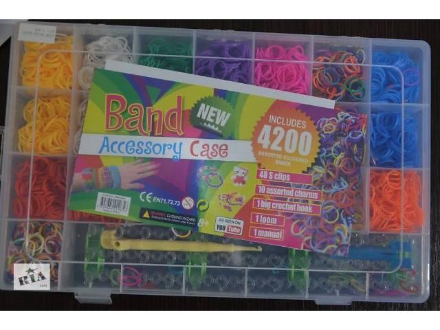 Резинки для плетения браслетов набор купить в украине