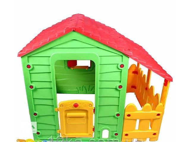 купить бу Большой садовый домик TOBI TOYS с огородом для детей новый в Тернополе