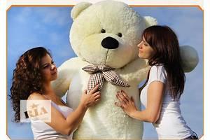 Большие плюшевые мишки (медведи) 200 см белые, карамельные, коричневые. Доставка по Украине.