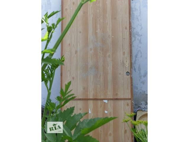 купить бу Большие входные деревянные двери в Николаеве