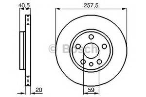 Тормозной диск Peugeot