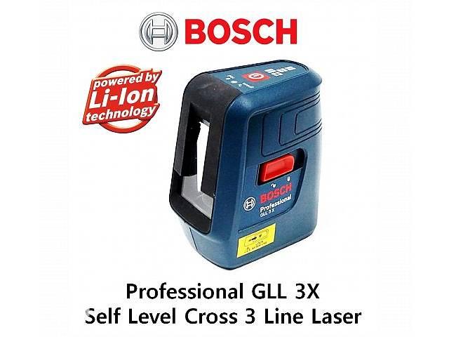 продам Bosch Лазерный нивелир GLL 3X бу в Киеве