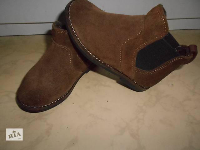 продам ботинки, 21 размер,стелька 13,5 см, бренд Zara baby, Испания бу в Николаеве