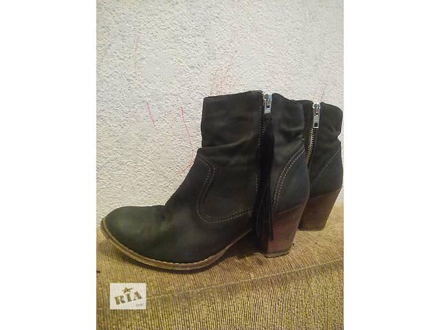 Ботинки 38 р ( кожа)- объявление о продаже  в Сумах