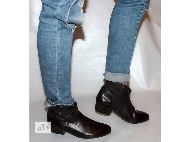 купить бу Ботинки 39 р Bata Чехия кожа оригинал демисезон в Мукачево