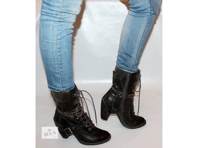 бу Ботинки 39 р Tamaris Германия кожа оригинал деми в Мукачево