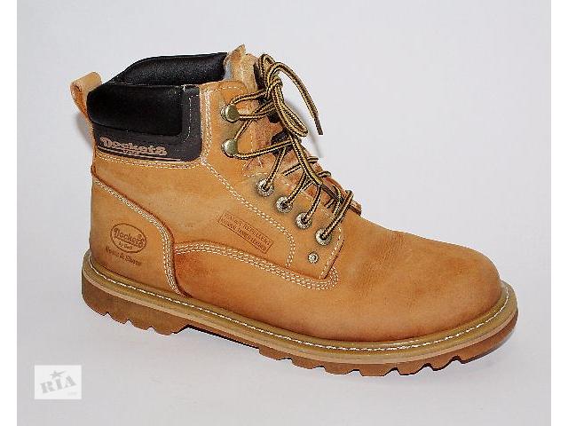 купить бу Ботинки 44 р Dockers Германия кожа зима оригинал в Мукачево
