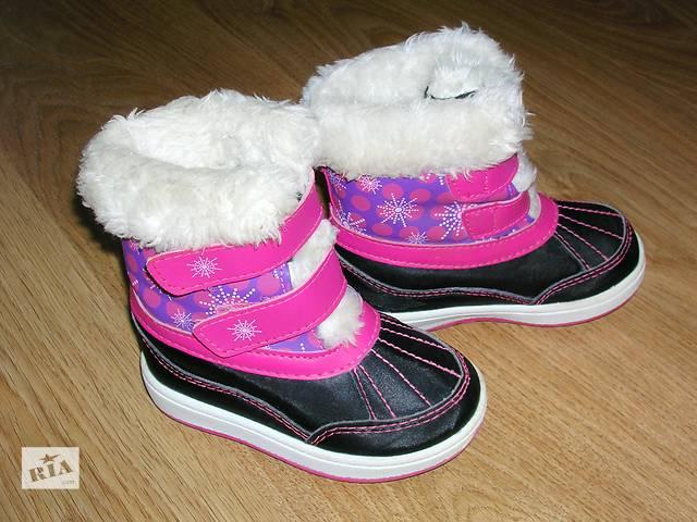 продам Ботинки детские для девочки Weather spirits. Куплены в Канаде бу в Тернополе