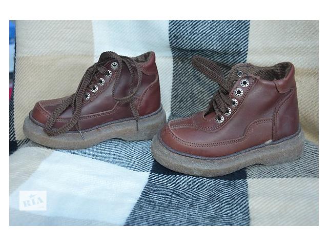 продам ботинки для хлопчика, осінь-весна бу в Чорткове