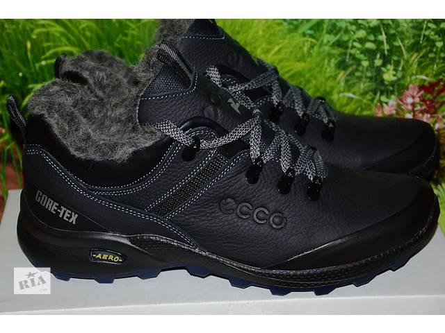 Ботинки кожаные спорт М59 качество ecco 40 41 42 43 44 45- объявление о продаже  в Харькове