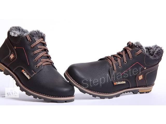 Ботинки кожаные зимние Columbia Winter- объявление о продаже  в Вознесенске