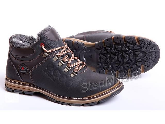 Ботинки кожаные зимние ECCO Motion Receptor- объявление о продаже  в Вознесенске