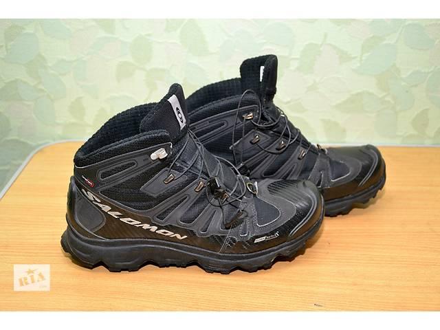 купить бу Ботинки ( кроссовки) мужские зимние 40,5 размер SOLOMON в Днепре (Днепропетровск)