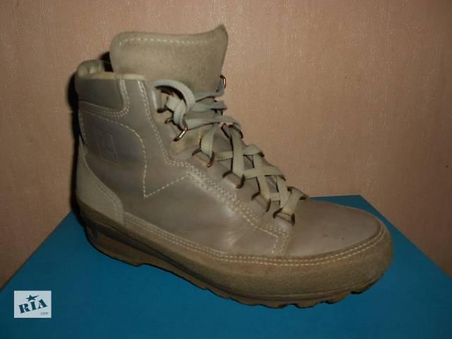 Ботинки, Lowa. 38 размер, натуральная кожа, унисекс, Германия, треккинговые- объявление о продаже  в Николаеве