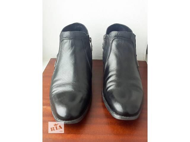бу Продаю зимние мужские ботинки Sandro Gluardiani в Киеве