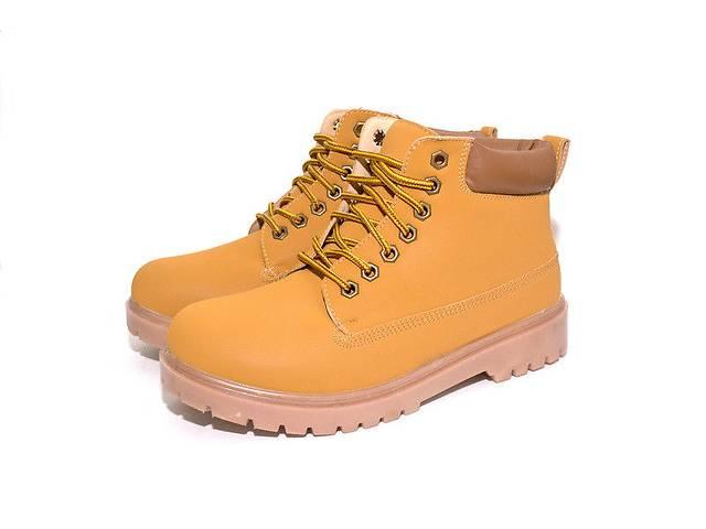 продам Ботинки мужские зимние MMM Yellow  бу в Львове