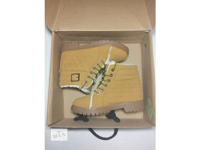 Ботинки на меху зима р 38- объявление о продаже  в Одессе