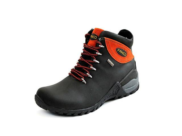 Ботинки natural FANCO Air Tex Hiking black orange- объявление о продаже  в Львове