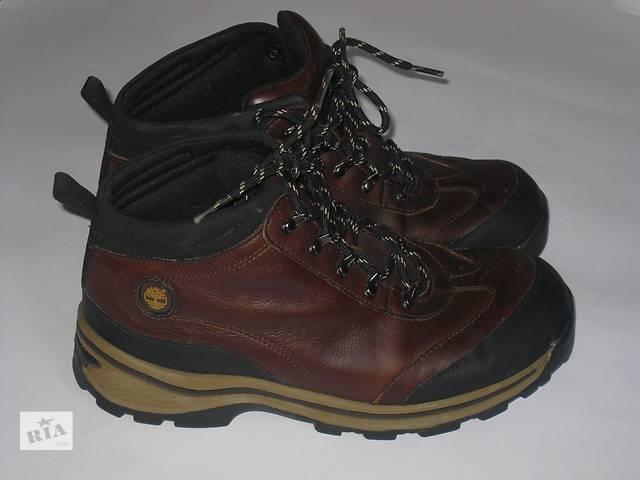 Ботинки Timberland оригинал 39,5р.кожа- объявление о продаже  в Ивано-Франковске