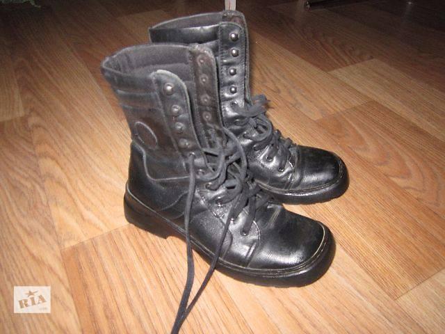 продам Ботинки женские демисезонные кожаные бу в Сумах