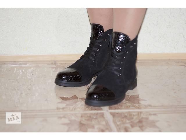 продам  Ботинки женские со шнурками.Опт и розница. бу в Днепре (Днепропетровск)