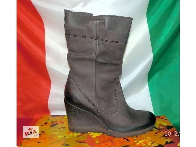 продам Ботинки кожаные женские фирмы Grazie оригинал Италия бу в Киеве