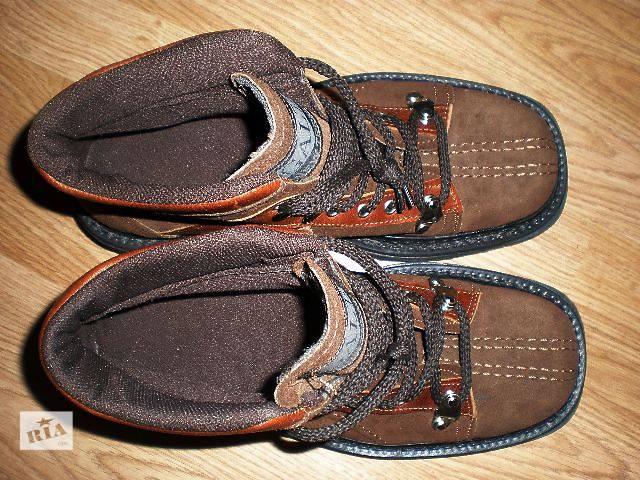 купить бу Ботинки мужские Galt, Германия, натуральный нубук, мембрана  в Гнивани