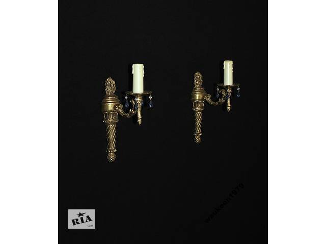 Бра бронзовые - пара, Франция 1960-е годы- объявление о продаже  в Каменском (Днепродзержинске)