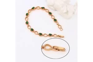 Новые Позолоченные женские браслеты
