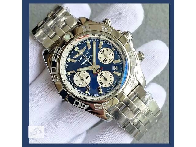 продам Breitling - Chronomat Blue Dial Chronograph Automatic Steel 44 бу в Киеве