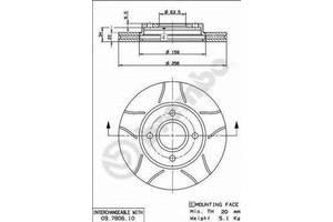 Тормозной диск Ford