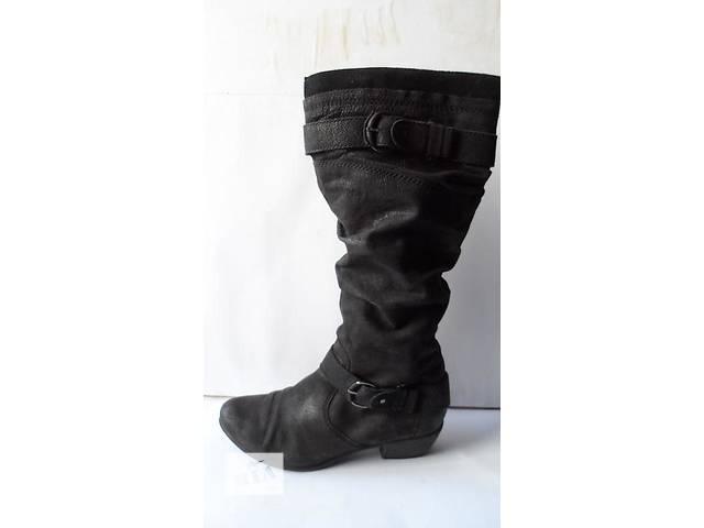 бу Брендовые! Качественные и удобные кожаные сапоги 42 размер в Калуше