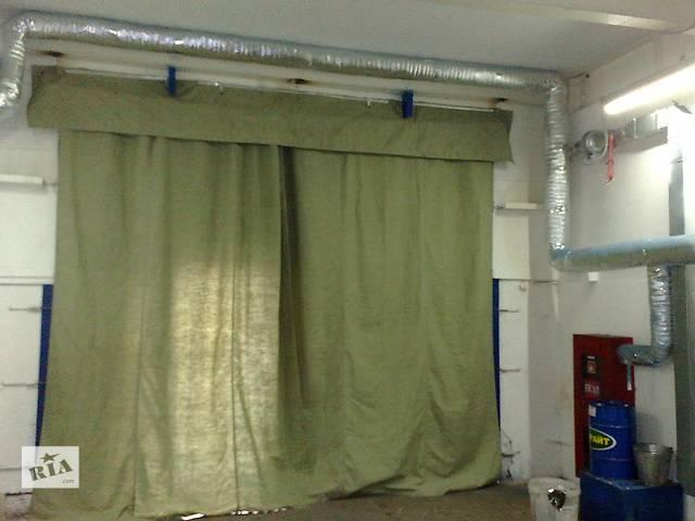 Брезент шторы для гаража,склада- объявление о продаже  в Харькове