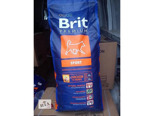 Brit (Брит) PREMIUM Sport корм для собак с высокой активностью- объявление о продаже  в Дрогобыче