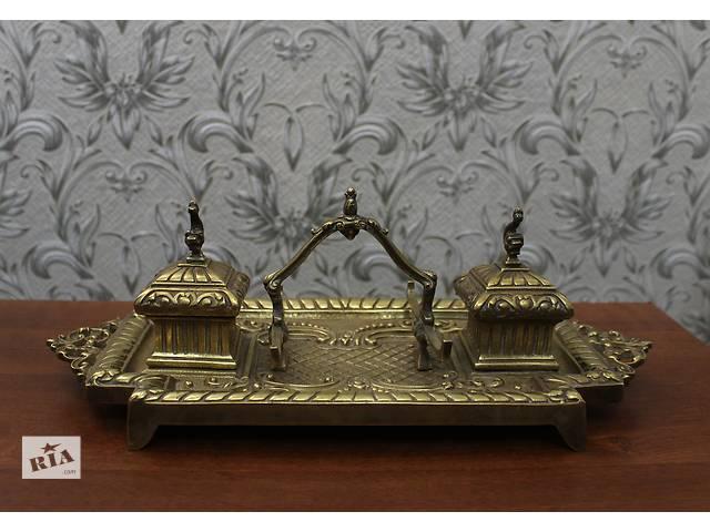 бу Бронзовый письменный набор, Европа 1880-е годы в Каменском (Днепродзержинске)