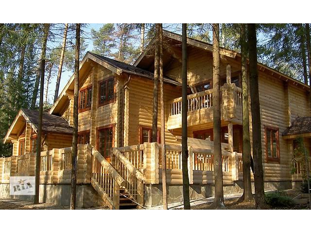 бу Бригада специалистов построит деревянный дом от фундамента до кровли  в Украине