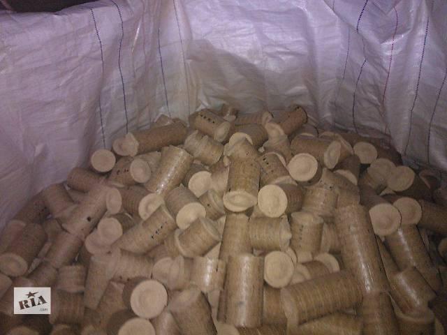 купить бу Брикеты топливные дубовые 100% 1т-1500грн в Ивано-Франковске