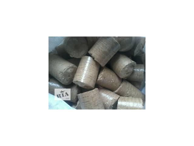 продам Брикеты топливные из опилок дуба бу в Львове