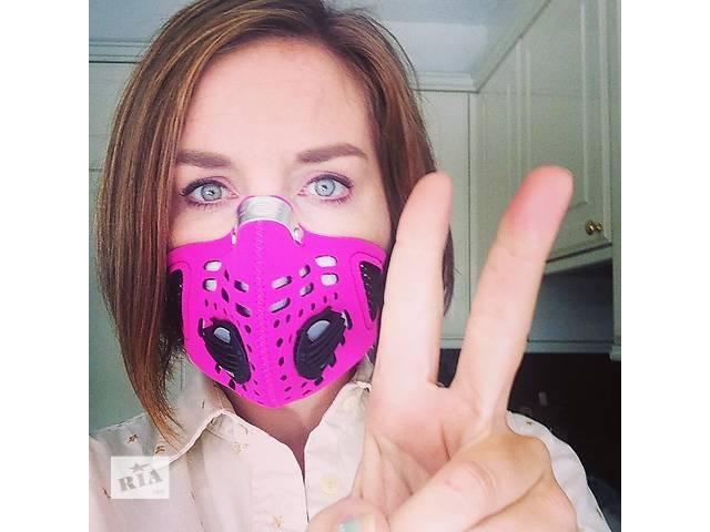 купить бу Британская маска респиратор Respro Sportsta (от аллергии, пыльцы и выхлопных газов) в Киеве