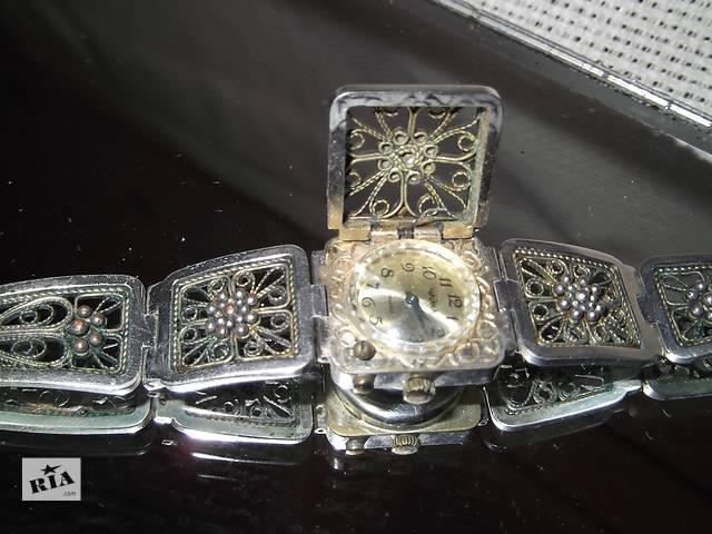 Расподажа-10%!Часы-браслет,,чайка,,рабочие ,филигрань.зернь.- объявление о продаже  в Киеве