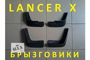 Новые Брызговики и подкрылки Mitsubishi Lancer X