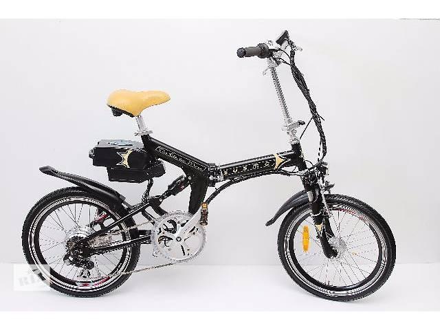 продам БУ Электро Велосипед Susmo - (складной) - Veloed бу в Дунаевцах (Хмельницкой обл.)