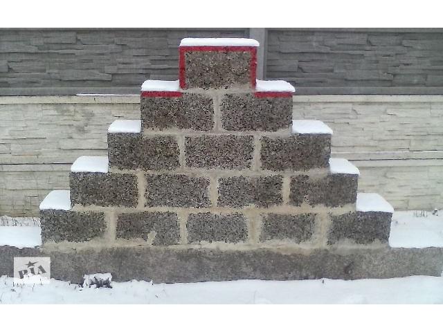бу строительные конструкционные блоки АРБОЛИТ в Здолбунове