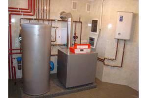 монтаж систем опалення та водопостачання