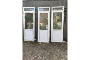 б/у Металлопластиковые двери Open Teck