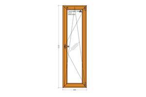 Новые Металлопластиковые двери Виконда