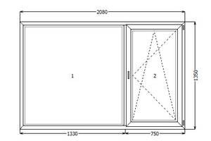 б/у Металлопластиковые окна REHAU