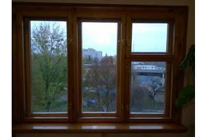 б/в Дерев'яні вікна