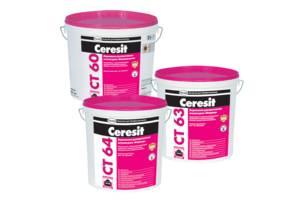 Новые Фасадные штукатурки Ceresit